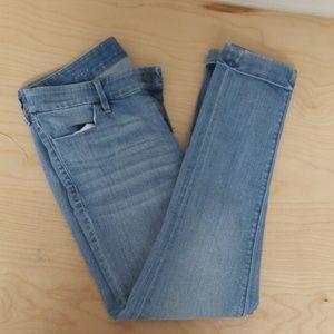 Ann Taylor LOFT modern ankle skinny jeans, size 6